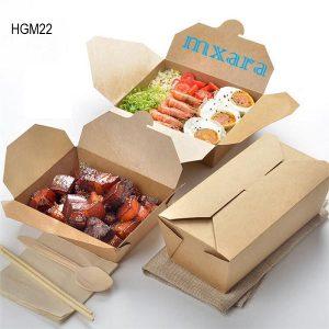 Hộp giấy đựng thức ăn mang về